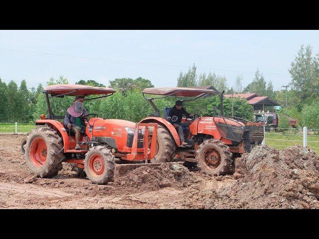 ???? KUBOTA M6040 & KUBOTA L4708 ?????????????? 2 ?????? Tractor