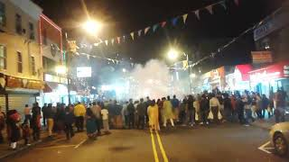Jersey city first time Diwali fireworks 2017