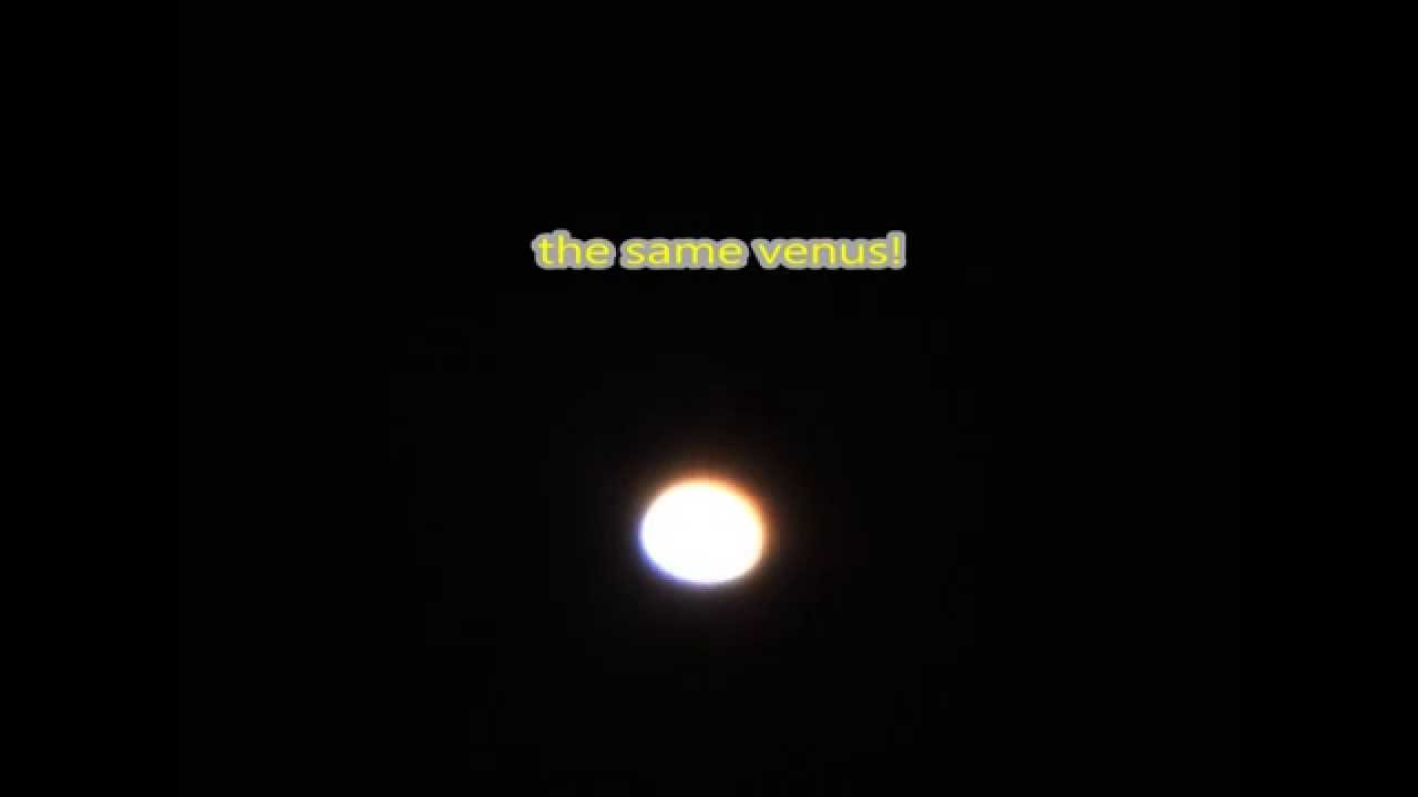 venus a violent planet seen from my telescope cpc 9 25 and zwo