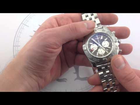 Breilting Chronomat B04 GMT Luxury Watch Review