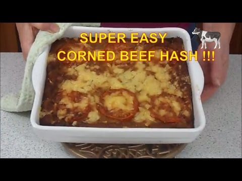 How to make corned beef hash from scratch