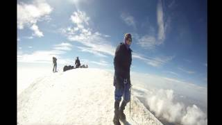 Pico de Orizaba HD  summit and crater in youtube