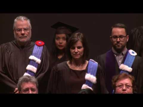 UQAM.tv | Collation des grades 2016 de la Faculté de communication