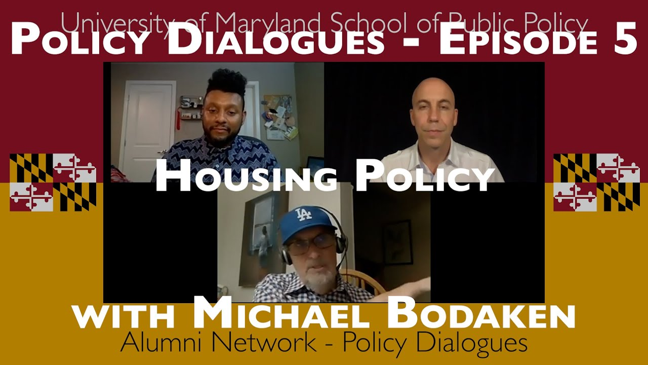 Housing Policy - Policy Dialogues Ep.5 w/ Michael Bodaken