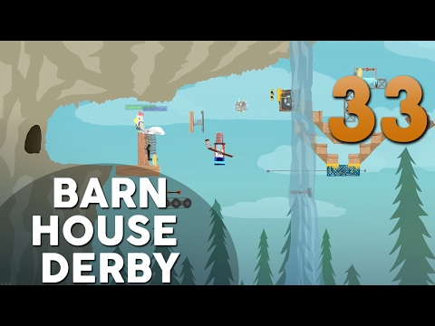 [33] Barn House Derby (Let's Play Ultimate Chicken Horse w/ GaLm and friends)