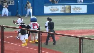 東京ヤクルトスワローズvs北海道日本ハムファイターズ(2011.6.4 神宮球...