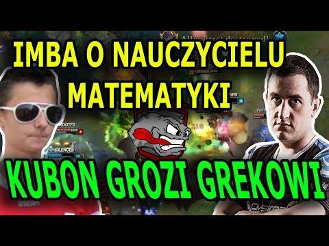 IMBA O NAUCZYCIELU MATEMATYKI/KUBON GROZI GREKOWI/TEAM ROCK