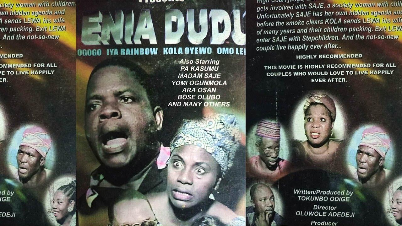 Download ENIA DUDU[Yoruba Movie]Pa Kasumu, Madam saje, Yomi Ogumola, Kola Oyewo,