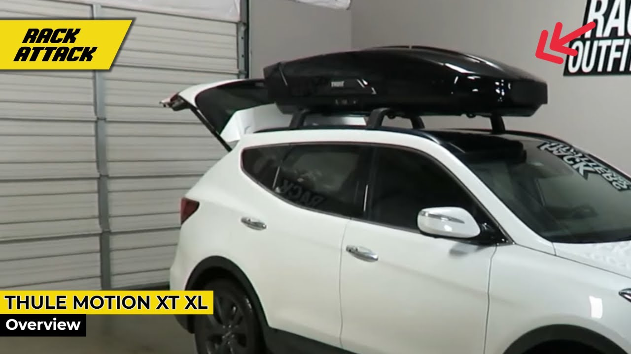 2013 To 2018 Hyundai Santa Fe With Thule Motion Xt Xl Roof