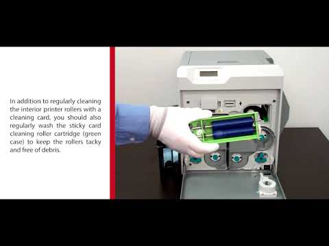 Matica how To? Step 4: Cleaning Your XID8300 Printer