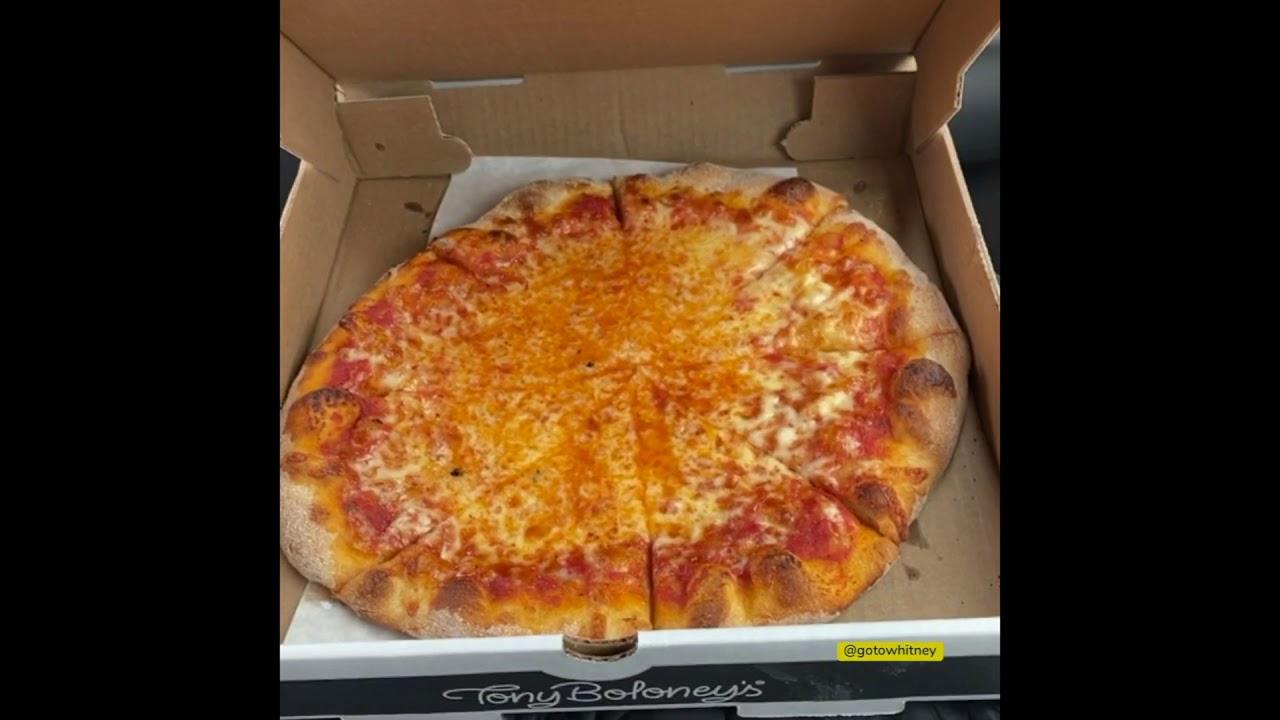 Tony Boloney's Atlantic City Plain Pizza Pie - Why Not?
