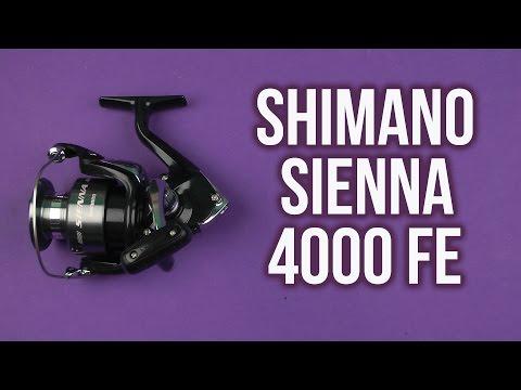 850d6279221 Распаковка Shimano Sienna 4000 FE (SN4000FE) - YouTube