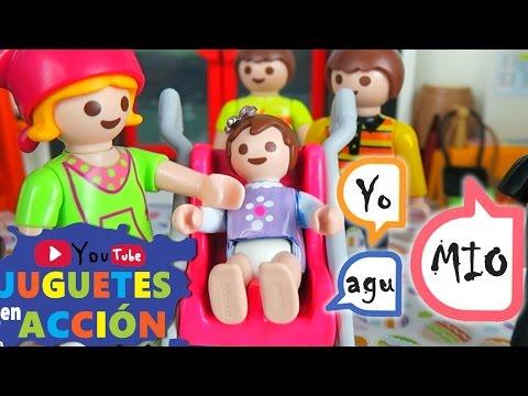 Playmobil en Español #57� ¿El BEBE ya HABLA? ¿MICA tiene un ADMIRADOR? � VIDEOS PLAYMOBIL ESPAÑOL