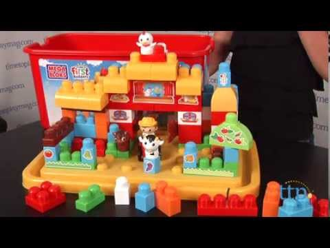 First Builders Farm From Mega Bloks Youtube