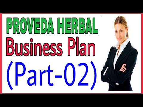 Proveda Herbal Business Plan Part-02