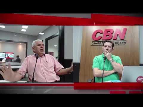 Entrevista CBN Campo Grande: Guimarães Rocha, escritor (12/12/2018)