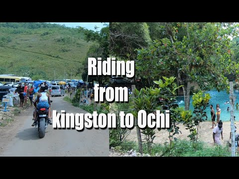 Riding To Spanish Bridge | Ran Out Of Fuel On The Highway | Jamaica Bike Ride Out Vlogust Day 6