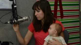 """Francesca Battistelli sings """"You're Here"""" live for our Christmas special"""