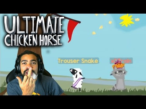 WHY IS EVERYONE HAVING FUN EXCEPT FOR ME?! | Ultimate Chicken Horse | #2