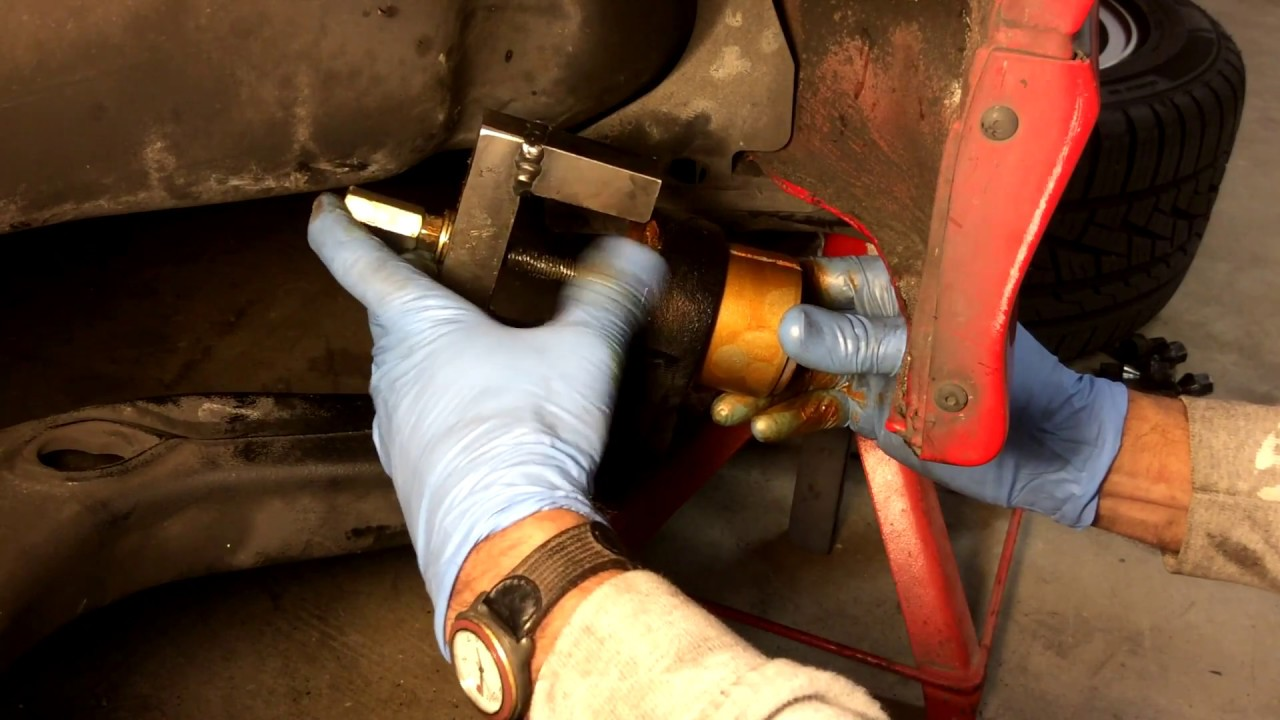 Bmw E36 Rear Trailing Arm Bushing Replacement And Diy Tool