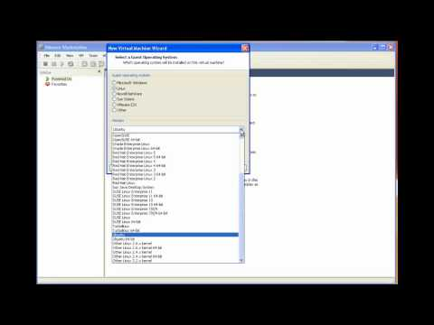 Installing guest operating systems from ISO images in VMware Workstation
