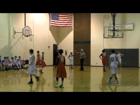 New Trier Feeder 7B vs Evanston 2-6-2016