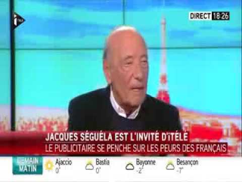 Interview de Jacques Séguéla chez Laurence Ferrari (iTélé)