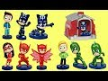 PJ MASKS Transform  Into Superhero With The Magic Pup House