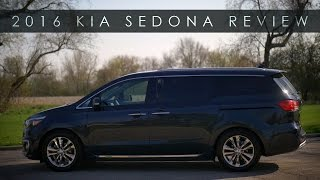 Quick Review | 2016 Kia Sedona | Minivan Highway