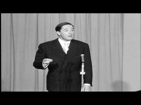 Jacques Bodoin * imitation * Tino Rossi  Dario Moreno et Luis Mariano * 1957