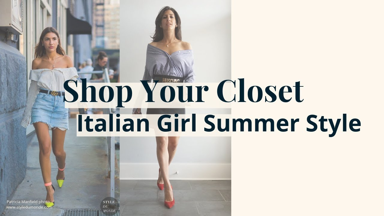Shop Your Closet: Italian Girl Summer Style | Slow Fashion 9