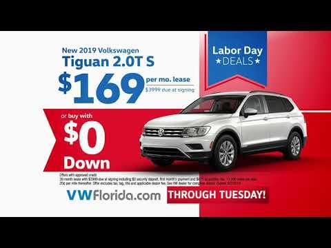 Volkswagen South Florida - Labor Day Deals - Tiguan - Jetta