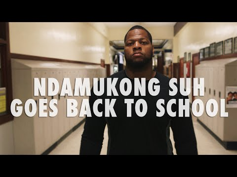 Ndamukong Suh High School Homecoming -- First & Long, Sponsored by Nike