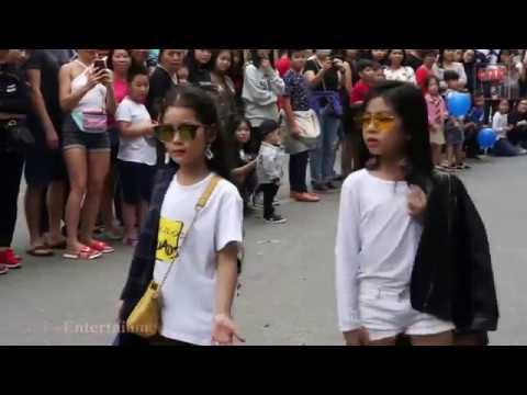 Dàn mẫu nhí làm náo loạn phố đi bộ Hà Nội - Kids Fashionista VN