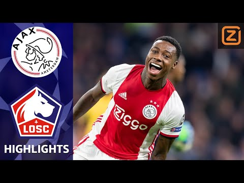 AJAX BELEEFT DROOMSTART ❌❌❌| Ajax vs Lille | Champions League 2019/20 | Samenvatting