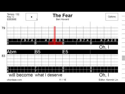 ChordaaS Ben Howard   The Fear