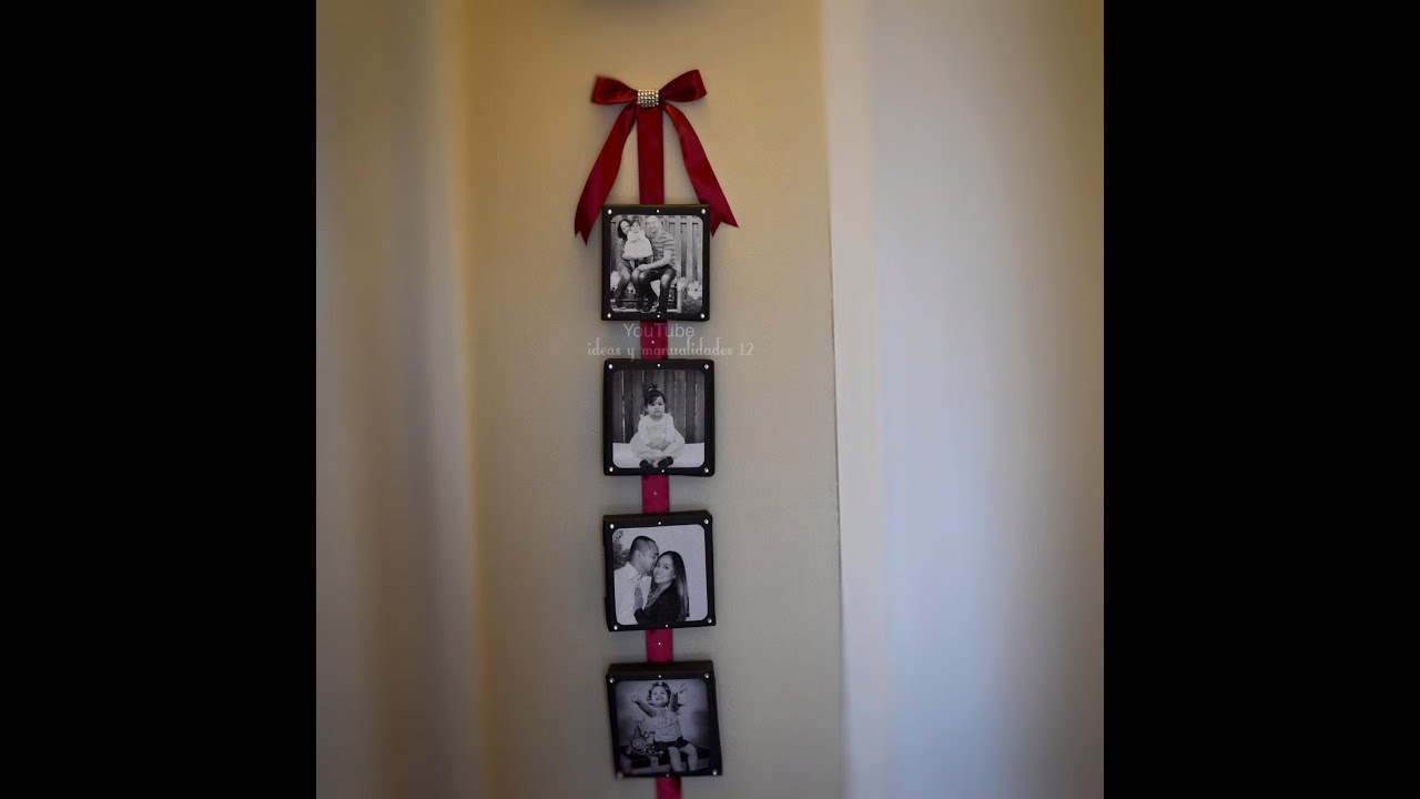 Ideas con fotos para decorar tu hogar youtube for Regalos para el hogar decoracion
