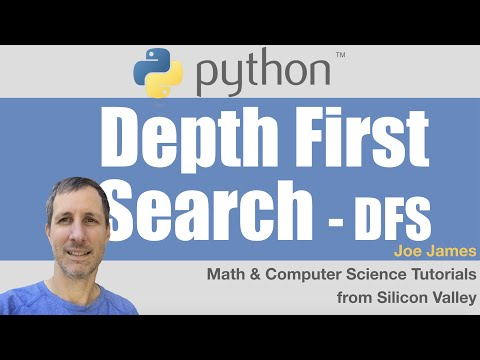 Python: DFS Depth First Search - YouTube