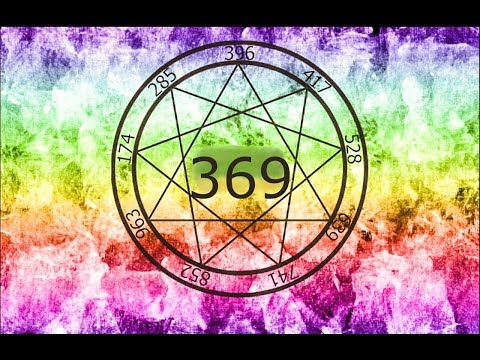 369 HZ  MIRACLE TONE  DNA HEALING  WASH NEGATIVITY AWAY  HARMONY  CHAKRA