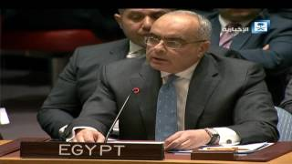 كلمة مندوب مصر في مجلس الأمن