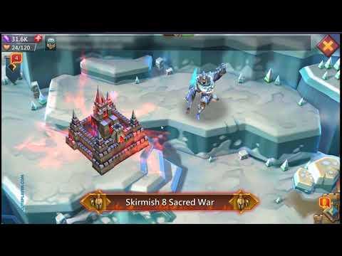 Lords Mobile Skirmish 8 Sacred War