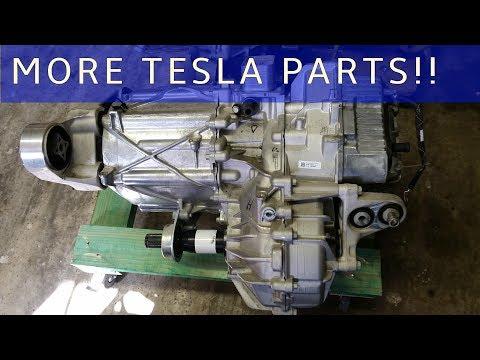 The Tesla Project : Front Wheel Drive Unit