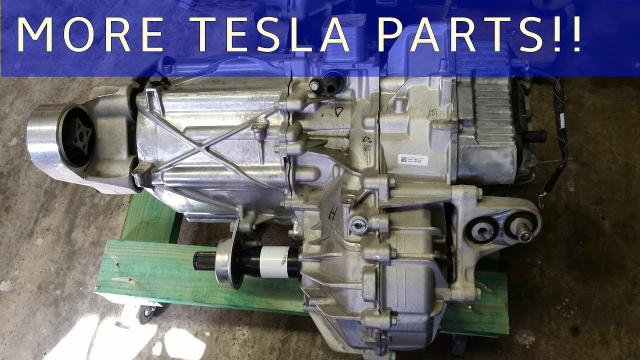 The Tesla Project : Front Wheel Drive Unit