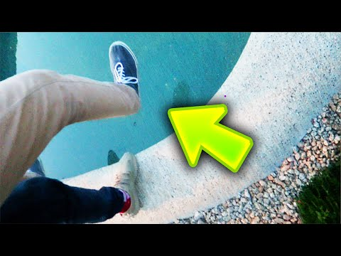 PRESTON THROWS ME INTO THE POOL?!?