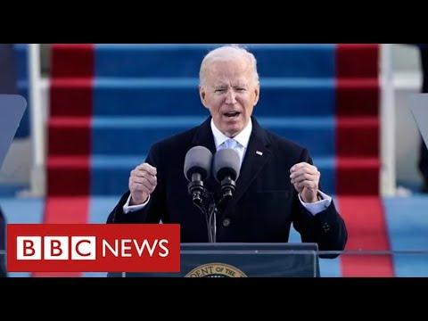 "President Biden tells America ""democracy has prevailed"" - BBC News"