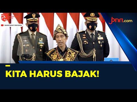 Sidang Tahunan MPR, Jokowi: Kita Harus Bajak Momentum Krisis