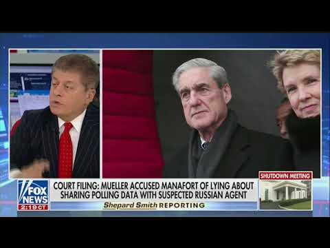 Fox's Judge Napolitano: Latest Manafort Revelations 'Would Fit Into' Category Of Collusion