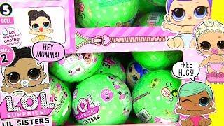 LOL SURPRISE Series 3 Ляльки Пупсики Змінюють Колір LIL Sisters Відео для Дітей #Іграшки #Сюрпризи