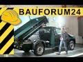 VW Amarok als 3-Seiten Kipper? Amarok als Kipper Umbau - Walkaround | bauma 2013