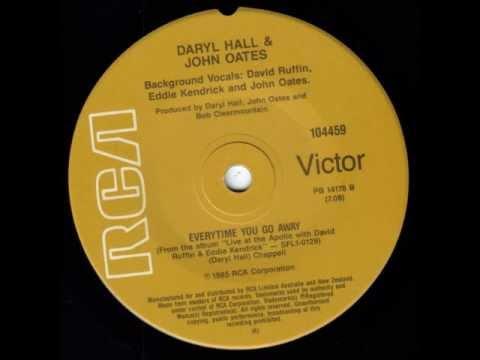 Daryl Hall & John Oates with David Ruffin & Eddie Kendricks - Everytime You Go Away
